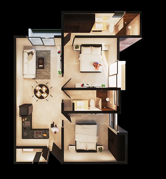 Apartamento Modelo B MAGNUS Cholul